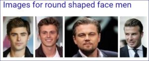 round shaped face men